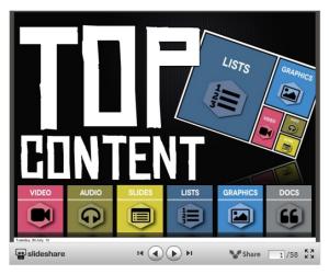 Top Content Deck
