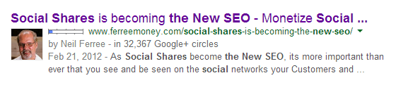 social shares is becoming the new seo