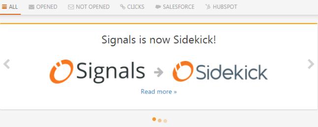 Signals is Now Sidekick