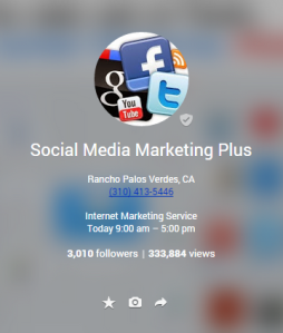 Google Plus SMM